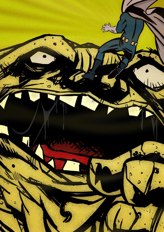 Arte Convidada: Versus O Monstro De Areia, por Fernando Ramos